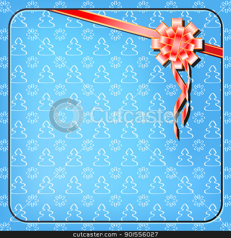 Vector xmas packing stock photo, Vector xmas packing. File contains seamless pattern by Imaster