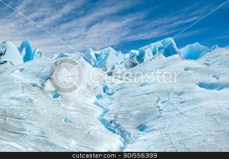 Perito Moreno glacier, patagonia, Argentina.  stock photo, Perito Moreno glacier, patagonia, Argentina. Copy space.  by Pablo Caridad