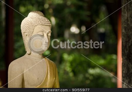 buddha statue in Thailand stock photo, buddha statue in Thailand. In Thailand's temple is free license by sweetcrisis
