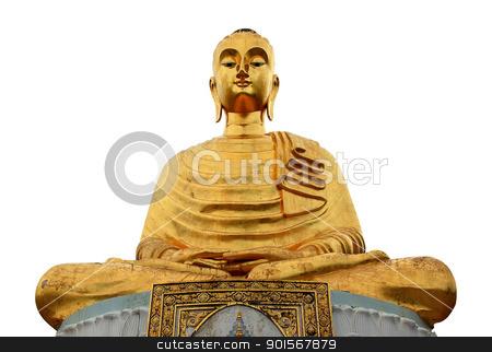 gloden buddha stock photo, golden buddha in thailand by Prakaymas vitchitchalao
