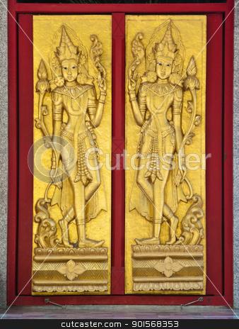 Deva, Angle, Door stock photo,  by Lavoview
