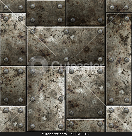 Armor seamless background. stock photo, Armor seamless texture background. See more seamlessly backgrounds in my portfolio. by Oleksiy Fedorov