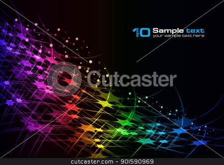 Vector abstract design stock photo, Abstract vector eps10 glowing background. For your design. by dvarg