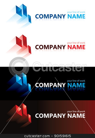 Company name. Design elements. stock photo, Company name. Design elements. Illustration. by dvarg