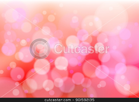 Red defocus lights  stock photo, Defocused creative abstract red lights. Vector background by dvarg