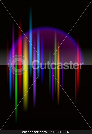 North-light abstract bright colorful background stock photo, North-light abstract bright colorful background for design. Black release. by dvarg