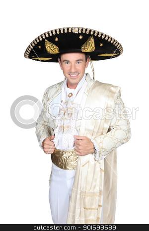 Man dress in bullfighter costume stock photo, Man dress in bullfighter costume by photography33