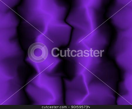 Straight Soft Purple Neon Velvet Folds stock photo, Straight Soft Purple and Black Neon Velvet Folds by Snap2Art