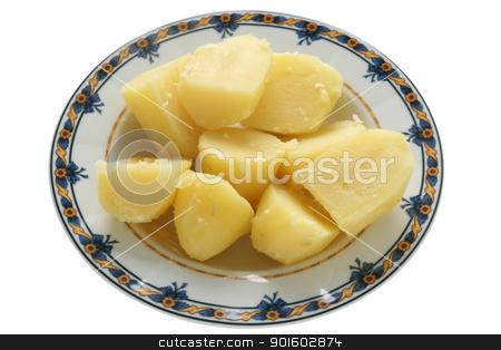 Boiled potato stock photo, Boiled potato by nataliamylova