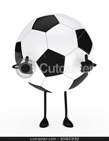 football figure stock photo, football figure shows top on white background by d3images