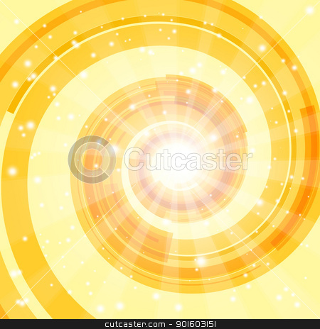 Abstract techno background stock photo, Abstract swirl background. EPS10. Used transparency layers of spotlights and spiral object by Imaster