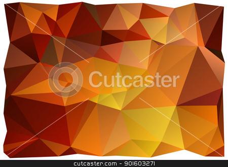 wrinkled vector background stock vector clipart, abstract crinkled paper, vector background by Beata Kraus