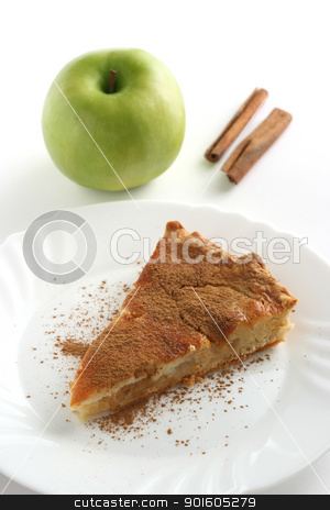 apple pie stock photo, apple pie by nataliamylova