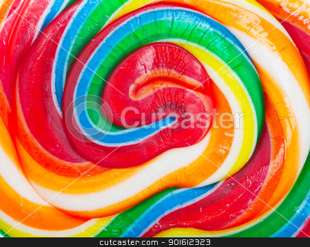 Lollipop background stock photo, Closeup of a colorful spiral lollipop background by Steve Mcsweeny