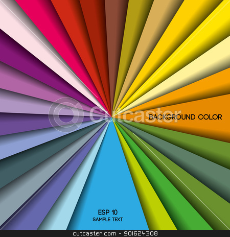colorful stock vector clipart, colored background with place for text, color palette 2 by Miroslava Hlavacova