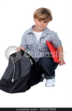 Schoolboy stock photo, Schoolboy by photography33