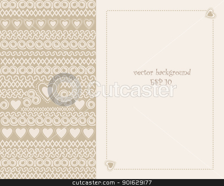 paper stock vector clipart, Romantic background by Miroslava Hlavacova