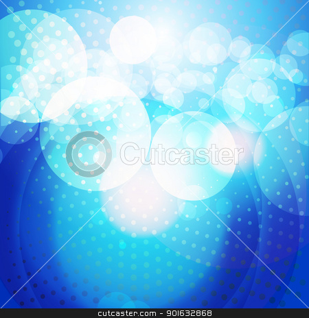 shiny background stock vector clipart, vector shiny blue color eps10 background by pinnacleanimates