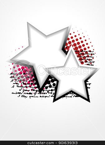 beautiful star vector art stock vector clipart, beautiful star vector artistic design by pinnacleanimates