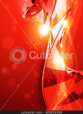 abstract background stock vector clipart, beautiful red shiny background illustration by pinnacleanimates
