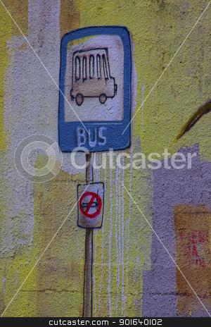 Graffiti stock photo, Graffiti by bubu45