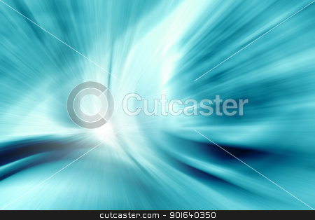 abstract zoom blue stock photo, An image of a nice abstract zoom blue background by Markus Gann