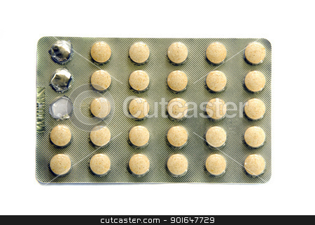 Medicine vitamin tablets stick. Homeopathic stuff  stock photo, Medicine vitamin tablets in stick. Homeopathic stuff use.  by sauletas