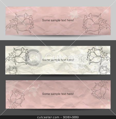 Modern sweet vector stock vector clipart, Modern wseet creative vector advertise by naturartist