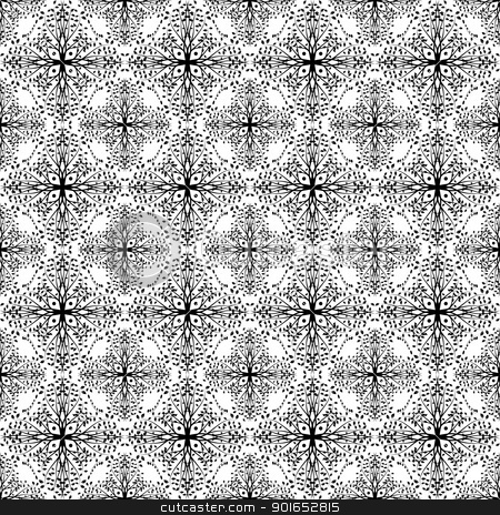 Seamless Leaves Pattern stock vector clipart, Beautiful bckground of seamless leaves pattern by Ingvar Bjork