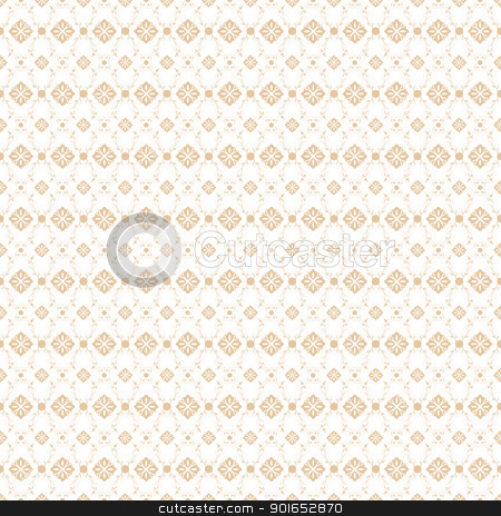 Seamless Floral Pattern stock vector clipart, Beautiful background of seamless floral pattern by Ingvar Bjork