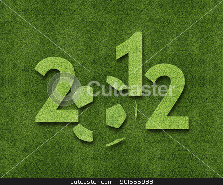 Happy new year 2012 stock photo, Happy new year 2012, soccer sport conceptual image by Designsstock
