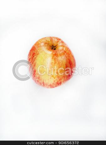 fresh apple stock photo, fresh apple fruit on white background by Designsstock
