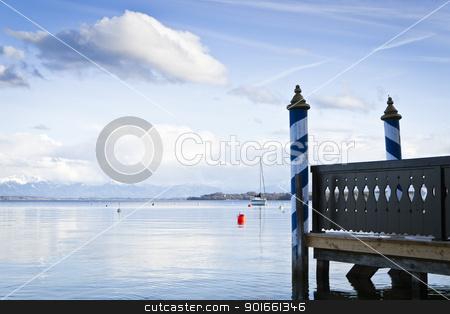 Tutzing at Starnberg Lake stock photo, An image of the Starnberg Lake in Bavaria Germany - Tutzing by Markus Gann
