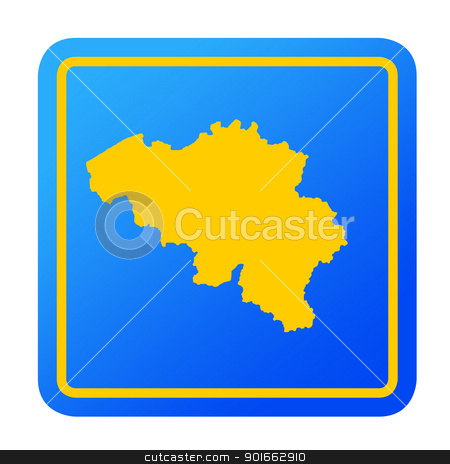Bosnia and Herzegovina European button stock photo, Bosnia and Herzegovina European button isolated on a white background with clipping path. by Martin Crowdy