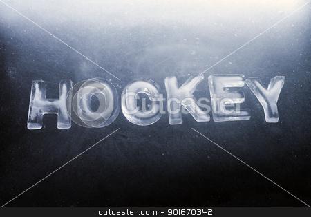 Hockey stock photo, Word