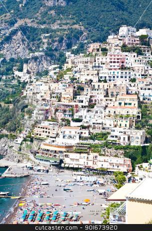 Minori - Costiera Amalfitana - italy stock photo, Panoramic view of Minori, wonderful town in Costiera Amalfitana - Italy by Perseomedusa
