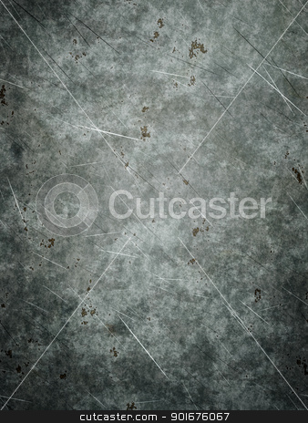 grunge metal plate stock photo, An image of a nice grunge metal plate background by Markus Gann