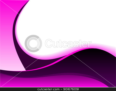 A mauve and white abstract business card  stock vector clipart, A mauve and white abstract business card with room for text by Mike Price