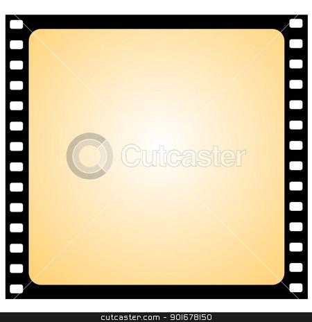 vector film frame - vignette stock vector clipart, Illustration of the film frame - vector by Siloto