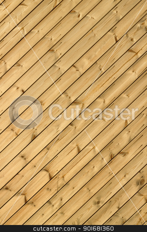 Wooden decking planks close up. stock photo, Wooden decking planks close up. by Stephen Rees