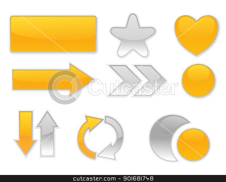 Collection web elements.  stock vector clipart, Collection web elements.  by vtorous