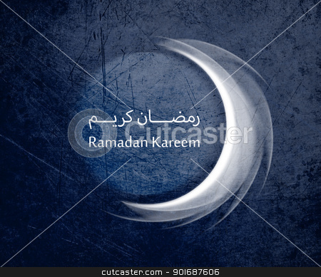 Ramadan Kareem stock photo, conceptual image for the holy month of Ramadan and Eid al Fitr. by Designsstock