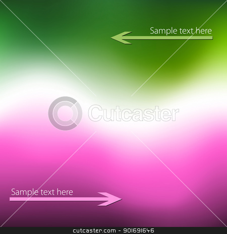 Green magenta background stock vector clipart, Green magenta background by vtorous