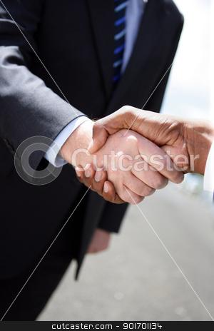 Business handshake stock photo, Business handshake by photography33