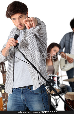 Rock group stock photo, Rock group by photography33