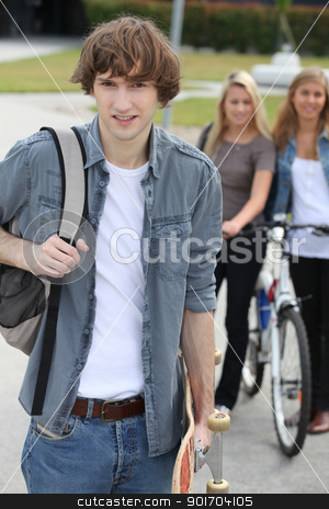 Teenagers stock photo, Teenagers by photography33
