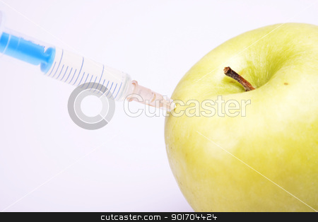 Genetically modified fruits and vegetables stock photo, Genetically modified fruits and vegetables by fikmik