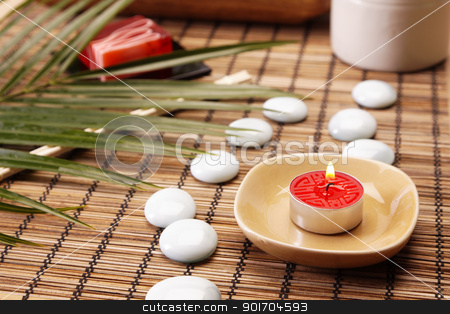Spa, zen and relax stock photo, Take care about your body in SPA. Zen and relax by fikmik