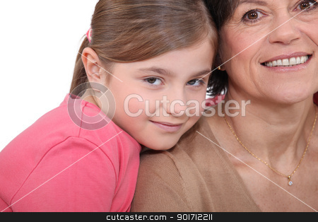 Mother and daughter close together stock photo, Mother and daughter close together by photography33