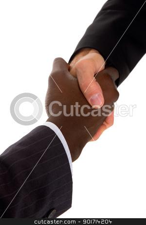 businessmen shaking hands stock photo, businessmen shaking hands by ambrophoto